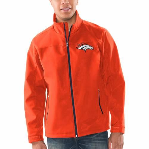 G-III SPORTS BY CARL BANKS ジースリー デンバー ブロンコス 橙 オレンジ 【 ORANGE GIII SPORTS BY CARL BANKS DENVER BRONCOS PREGAME FULLZIP JACKET 】 メンズファッション コート ジャケット