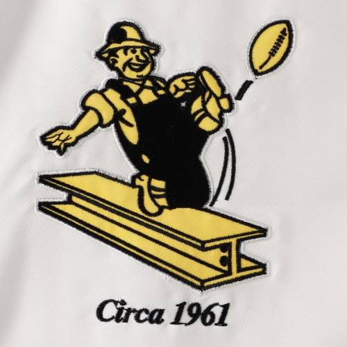 スターター STARTER ピッツバーグ スティーラーズ 白 ホワイト メンズファッション コート ジャケット メンズ 【 Pittsburgh Steelers Throwback D-line Varsity Full-snap Jacket - White 】 White