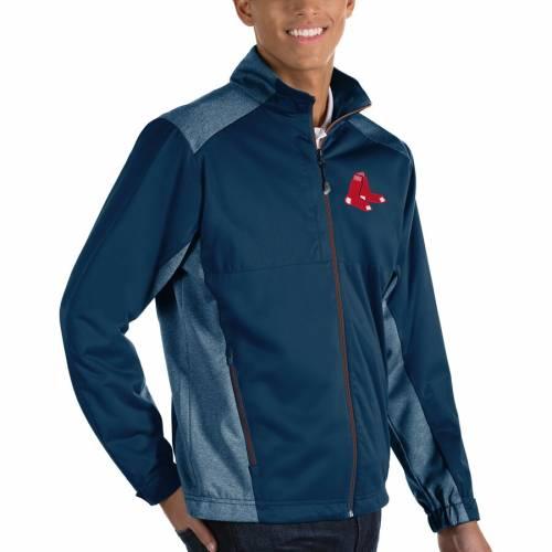 ANTIGUA ボストン 赤 レッド 紺 ネイビー メンズファッション コート ジャケット メンズ 【 Boston Red Sox Revolve Full-zip Jacket - Navy 】 Navy
