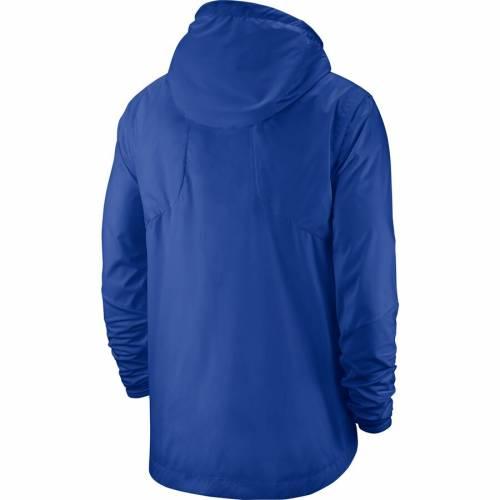 ナイキ NIKE ケンタッキー メンズファッション コート ジャケット メンズ 【 Kentucky Wildcats Player Repel Quarter-zip Hooded Jacket - Royal 】 Royal