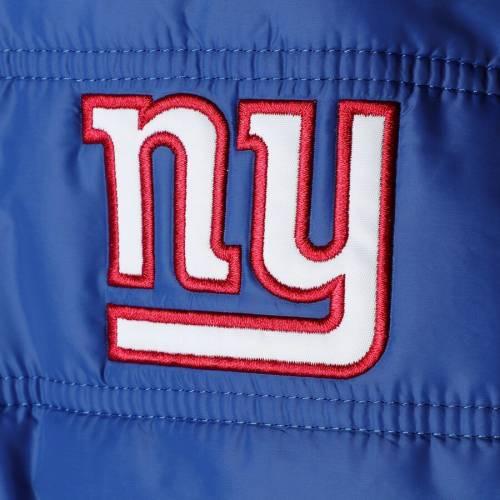 G-III SPORTS BY CARL BANKS ジャイアンツ メンズファッション コート ジャケット メンズ 【 New York Giants Reinforcer Full-zip Jacket - Royal/red 】 Royal/red