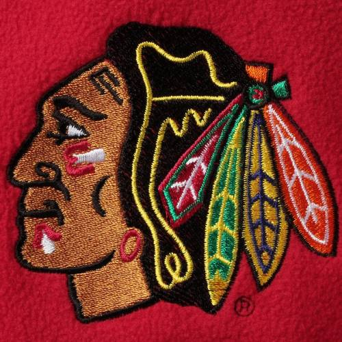 ANTIGUA シカゴ メンズファッション コート ジャケット メンズ 【 Chicago Blackhawks Ice Quarter-zip Pullover Jacket - Red/steel 】 Red/steel