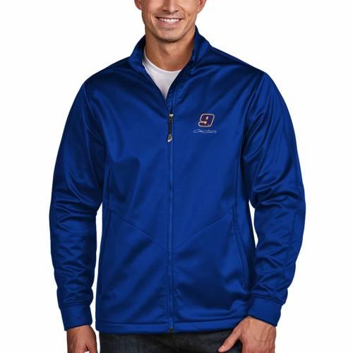 ANTIGUA チェイス ゴルフ メンズファッション コート ジャケット メンズ 【 Chase Elliott Golf Full-zip Jacket - Royal 】 Royal