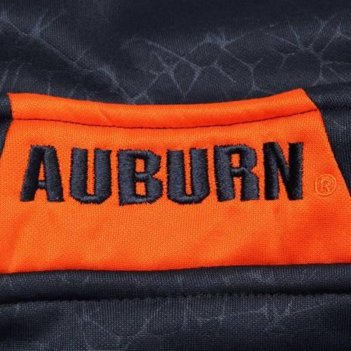 COLOSSEUM タイガース 紺 ネイビー メンズファッション コート ジャケット メンズ 【 Auburn Tigers Luge Quarter-zip Pullover Jacket - Navy 】 Navy