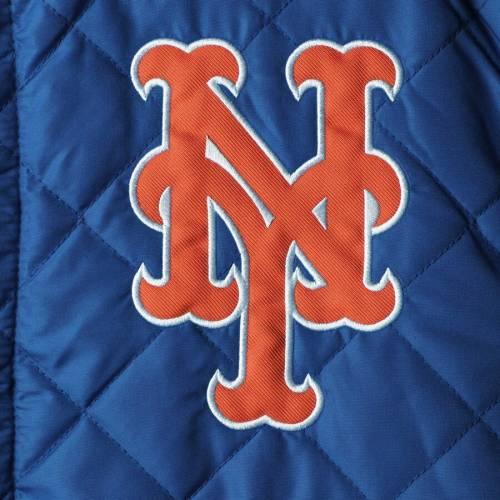 JH DESIGN メッツ リバーシブル メンズファッション コート ジャケット メンズ 【 New York Mets Wool Reversible Full-snap Jacket - Royal 】 Royal