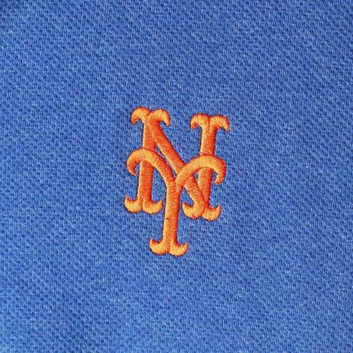 VINEYARD VINES メッツ メンズファッション コート ジャケット メンズ 【 New York Mets Saltwater Half-zip Tri-blend Pullover Jacket - Royal 】 Royal