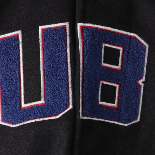 G-III SPORTS BY CARL BANKS シカゴ カブス スクリメージ 灰色 グレー グレイ メンズファッション コート ジャケット メンズ 【 Chicago Cubs Scrimmage Full-snap Varsity Jacket - Gray 】 Gray