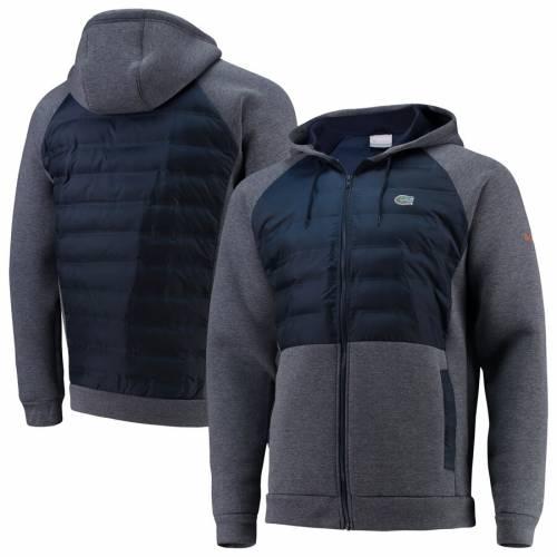 コロンビア COLUMBIA フロリダ ラグラン メンズファッション コート ジャケット メンズ 【 Florida Gators Northern Comfort Full-zip Hooded Raglan Jacket - Royal 】 Royal