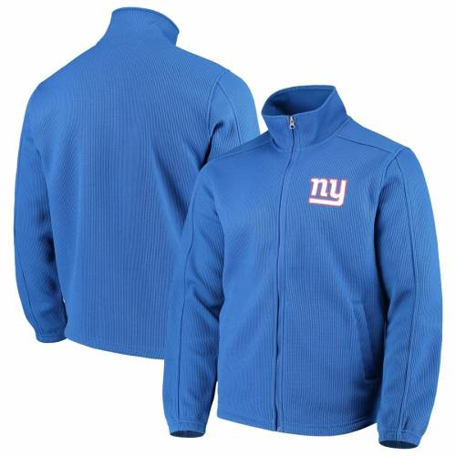 G-III SPORTS BY CARL BANKS ジャイアンツ フリース メンズファッション コート ジャケット メンズ 【 New York Giants Qr Audible Full-zip Fleece Jacket - Royal 】 Royal