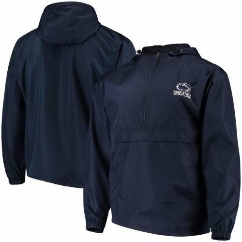 チャンピオン CHAMPION スケートボード ライオンズ 紺 ネイビー メンズファッション コート ジャケット メンズ 【 Penn State Nittany Lions Packable Jacket - Navy 】 Navy