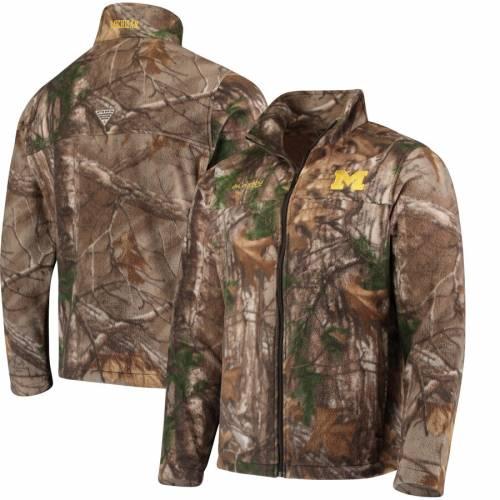 コロンビア COLUMBIA ミシガン メンズファッション コート ジャケット メンズ 【 Michigan Wolverines Collegiate Flanker Full-zip Jacket - Camo 】 Camo