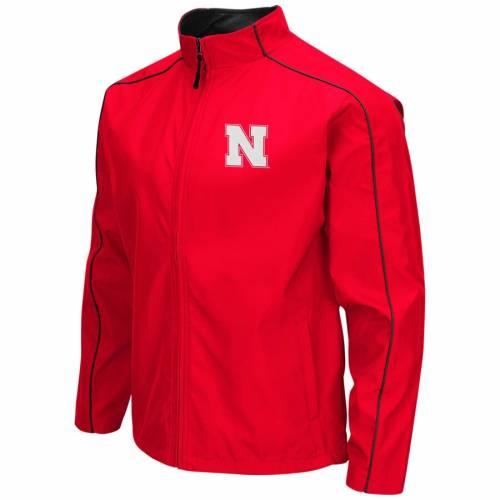 COLOSSEUM メンズファッション コート ジャケット メンズ 【 Nebraska Cornhuskers Big And Tall Carrier Full-zip Jacket - Scarlet 】 Scarlet