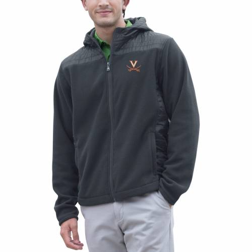 VANTAGE APPAREL バージニア キャバリアーズ チャコール メンズファッション コート ジャケット メンズ 【 Virginia Cavaliers Yukon Full-zip Jacket - Charcoal 】 Charcoal