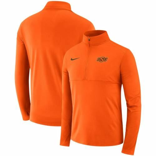 ナイキ NIKE スケートボード カウボーイズ 橙 オレンジ メンズファッション コート ジャケット メンズ 【 Oklahoma State Cowboys Quarter-zip Jacket - Orange 】 Orange