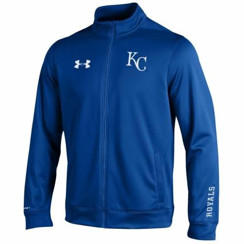 アンダーアーマー UNDER ARMOUR カンザス シティ ロイヤルズ メンズファッション コート ジャケット メンズ 【 Kansas City Royals Mvp Decoration Full-zip Jacket - Royal 】 Royal