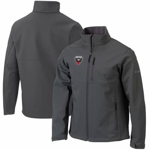 コロンビア COLUMBIA シェル チャコール D.c. メンズファッション コート ジャケット メンズ 【 D.c. United Ascender Soft Shell Full-zip Jacket - Charcoal 】 Charcoal