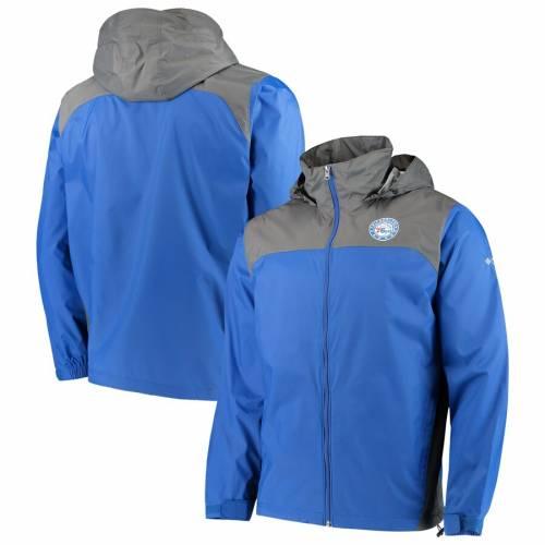 コロンビア COLUMBIA フィラデルフィア セブンティシクサーズ メンズファッション コート ジャケット メンズ 【 Philadelphia 76ers Glennaker Lake Full-zip Jacket - Royal 】 Royal