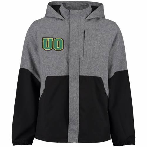 FANATICS BRANDED オレゴン メンズファッション コート ジャケット メンズ 【 Oregon Ducks Polk Jacket - Gray/black 】 Gray/black