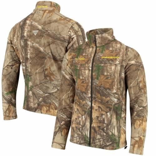 コロンビア COLUMBIA オレゴン メンズファッション コート ジャケット メンズ 【 Oregon Ducks Collegiate Flanker Full-zip Jacket - Camo 】 Camo