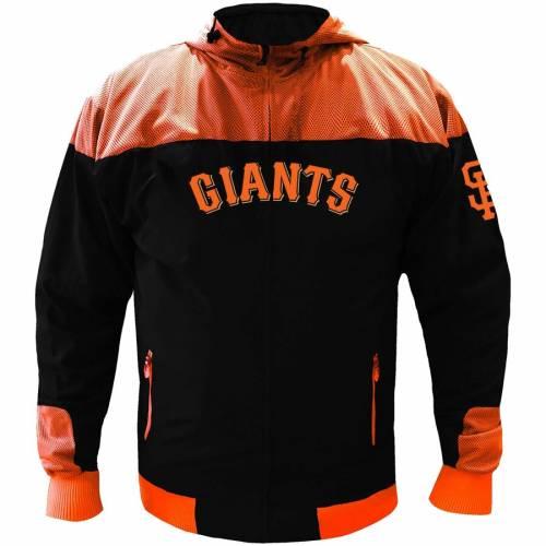 マジェスティック MAJESTIC ジャイアンツ 黒 ブラック メンズファッション コート ジャケット メンズ 【 San Francisco Giants Mesh Tricot Jacket - Black 】 Black