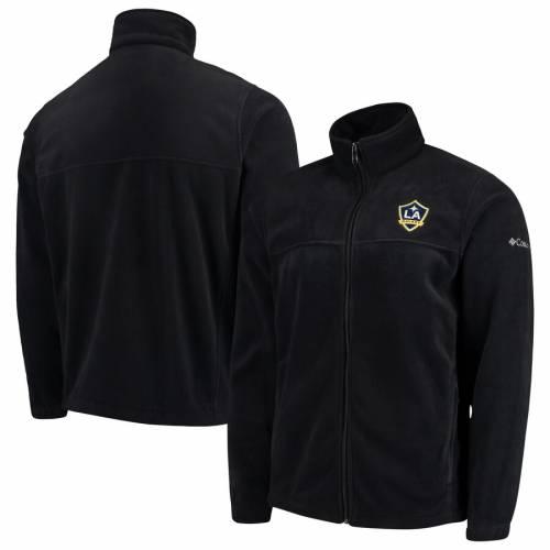 コロンビア COLUMBIA 黒 ブラック メンズファッション コート ジャケット メンズ 【 La Galaxy Flanker Full-zip Jacket - Black 】 Black