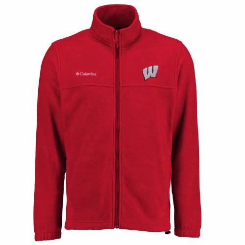 コロンビア COLUMBIA ウィスコンシン 赤 レッド メンズファッション コート ジャケット メンズ 【 Wisconsin Badgers Big And Tall Flanker Ii Full Zip Jacket - Red 】 Red