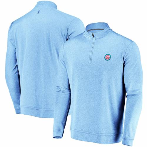 JOHNNIE-O シカゴ カブス メンズファッション コート ジャケット メンズ 【 Chicago Cubs Flex Quarter-zip Jacket - Royal 】 Royal