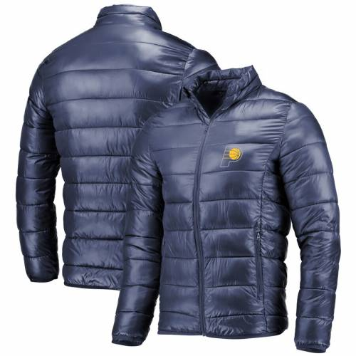 FANATICS BRANDED インディアナ ペイサーズ 紺 ネイビー メンズファッション コート ジャケット メンズ 【 Indiana Pacers Polyester Filled Puffer Jacket - Navy 】 Navy