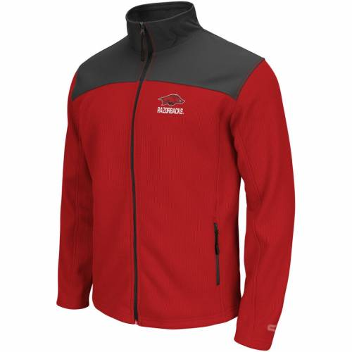 COLOSSEUM 赤 カーディナル メンズファッション コート ジャケット メンズ 【 Arkansas Razorbacks Arctic Full-zip Jacket - Cardinal 】 Cardinal