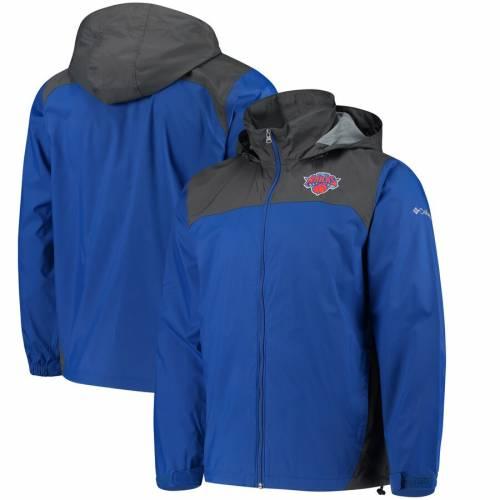 コロンビア COLUMBIA ニックス 青 ブルー メンズファッション コート ジャケット メンズ 【 New York Knicks Glennaker Lake Full-zip Jacket - Blue 】 Blue