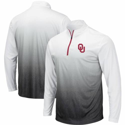 COLOSSEUM マジック チーム ロゴ 灰色 グレー グレイ メンズファッション コート ジャケット メンズ 【 Oklahoma Sooners Magic Team Logo Quarter-zip Jacket - Gray 】 Gray