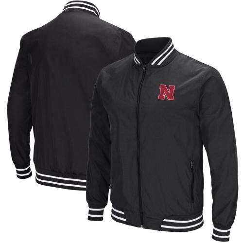 COLOSSEUM チャコール メンズファッション コート ジャケット メンズ 【 Nebraska Cornhuskers Blade Full-zip Jacket - Charcoal 】 Charcoal