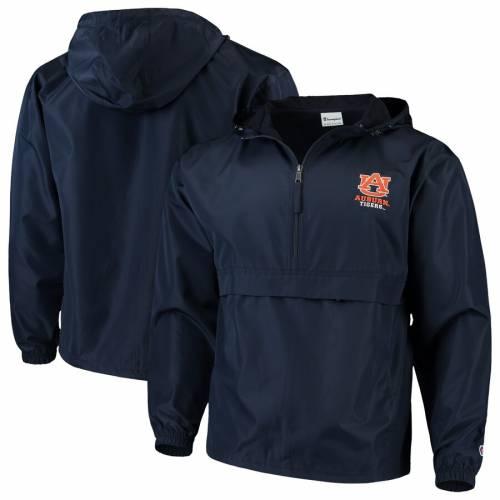 チャンピオン CHAMPION タイガース 紺 ネイビー メンズファッション コート ジャケット メンズ 【 Auburn Tigers Packable Jacket - Navy 】 Navy