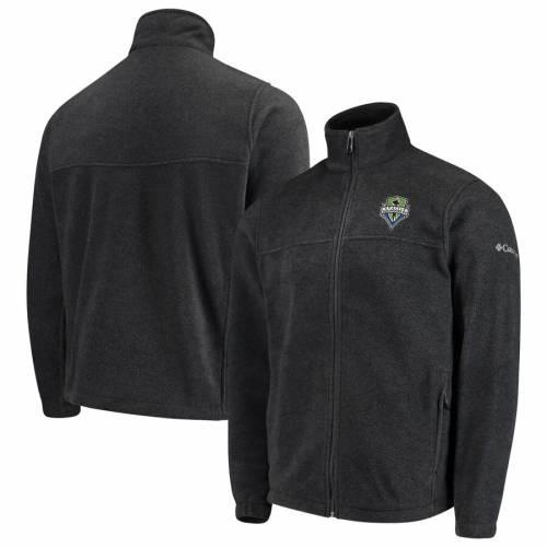 コロンビア COLUMBIA シアトル チャコール メンズファッション コート ジャケット メンズ 【 Seattle Sounders Fc Flanker Full-zip Jacket - Charcoal 】 Charcoal
