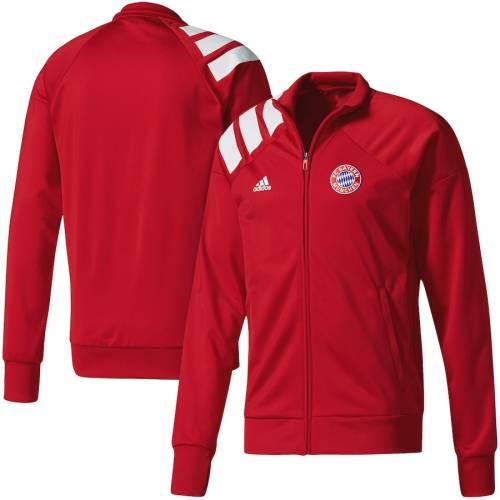 アディダス ADIDAS トラック 赤 レッド メンズファッション コート ジャケット メンズ 【 Bayern Munich Track Jacket - Red 】 Red
