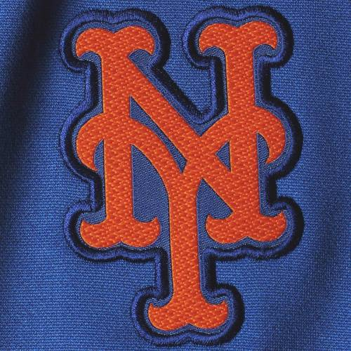 ナイキ NIKE メッツ サーマ メンズファッション コート ジャケット メンズ 【 New York Mets Therma Top Bench Half-zip Pullover Jacket - Royal 】 Royal