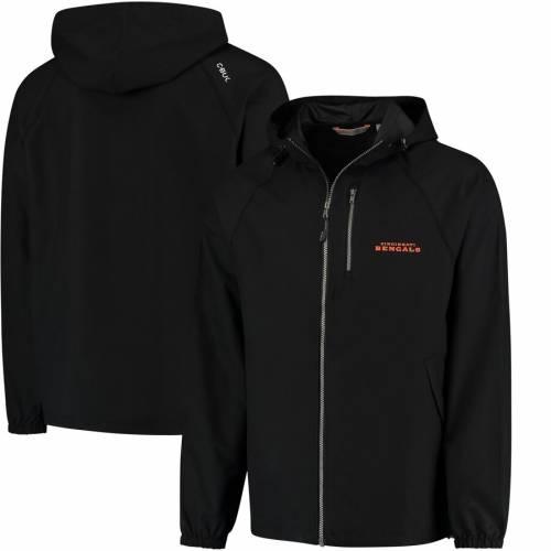 THE CLOUDBREAK GROUP シンシナティ ベンガルズ 黒 ブラック メンズファッション コート ジャケット メンズ 【 Cincinnati Bengals Anderson Full-zip Jacket - Black 】 Black