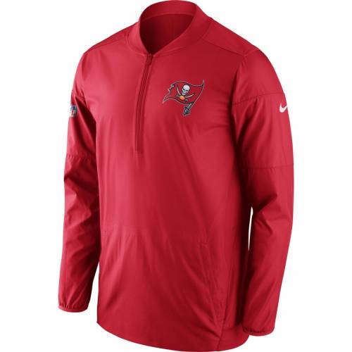 ナイキ NIKE バッカニアーズ サイドライン パフォーマンス 赤 レッド メンズファッション コート ジャケット メンズ 【 Tampa Bay Buccaneers Sideline Performance Jacket - Red 】 Red