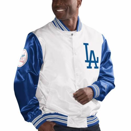 スターター STARTER ドジャース レジェンド 白 ホワイト メンズファッション コート ジャケット メンズ 【 Los Angeles Dodgers The Legend Jacket - White 】 White