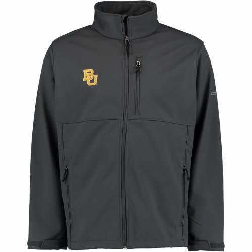 コロンビア COLUMBIA ベイラー ベアーズ チャコール メンズファッション コート ジャケット メンズ 【 Baylor Bears Ascender Ii Jacket - Charcoal 】 Charcoal