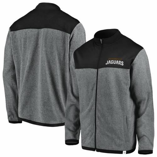 NFL PRO LINE BY FANATICS BRANDED ジャクソンビル ジャガース ポーラー メンズファッション コート ジャケット メンズ 【 Jacksonville Jaguars Polar Full-zip Jacket - Gray/black 】 Gray/black