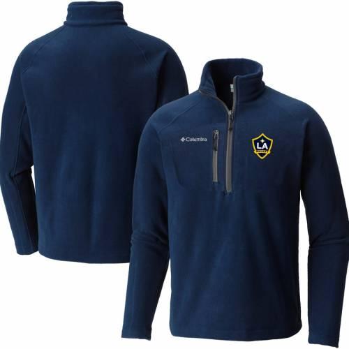 コロンビア COLUMBIA ファスト フリース 紺 ネイビー メンズファッション コート ジャケット メンズ 【 La Galaxy Fast Trek Fleece Half-zip Pullover Jacket - Navy 】 Navy