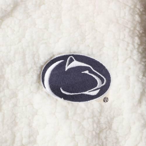 BOXERCRAFT スケートボード ライオンズ レディース クリーム 【 Penn State Nittany Lions Womens Plus Size Sherpa Full-zip Jacket - Cream 】 Cream