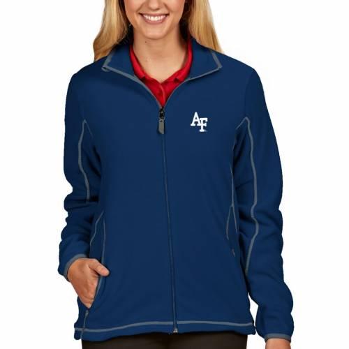 ANTIGUA エア ファルコンズ レディース 【 Air Force Falcons Womens Ice Full-zip Jacket - Royal 】 Royal