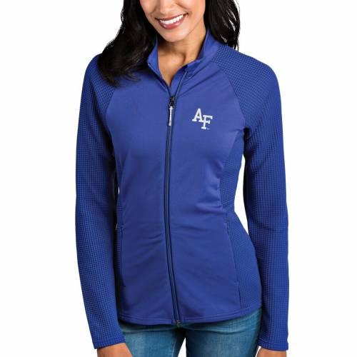 ANTIGUA エア ファルコンズ レディース 【 Air Force Falcons Womens Sonar Full-zip Jacket - Royal 】 Royal
