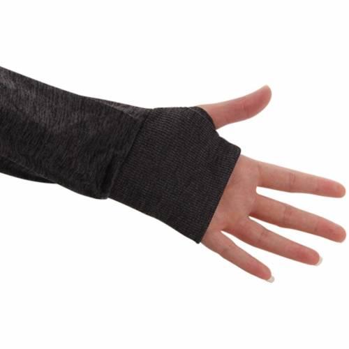 COLOSSEUM スケートボード レディース スリーブ 黒 ブラック 【 Nc State Wolfpack Womens Bikram 1/4 Zip Long Sleeve Jacket - Black 】 Black