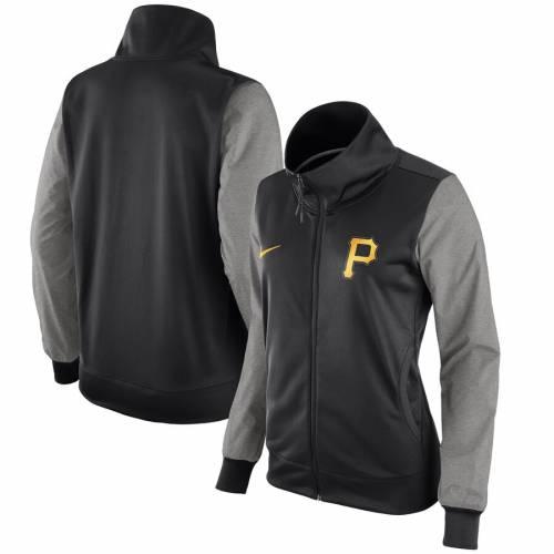 ナイキ NIKE ピッツバーグ 海賊団 レディース 黒 ブラック 【 Pittsburgh Pirates Womens Full-zip Jacket - Black 】 Black