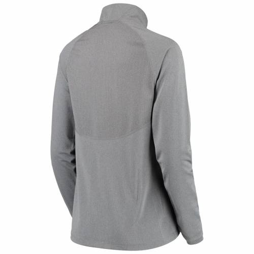 ナイキ NIKE ミシガン レディース エレメント パフォーマンス 灰色 グレー グレイ 【 Michigan Wolverines Womens Element Essential Performance Half-zip Pullover Jacket - Heathered Gray 】 Heathered Gray