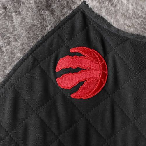 GAMEDAY COUTURE トロント ラプターズ レディース 黒 ブラック 【 Toronto Raptors Womens Sidenote Quilted Snap-up Pullover Jacket - Black 】 Black