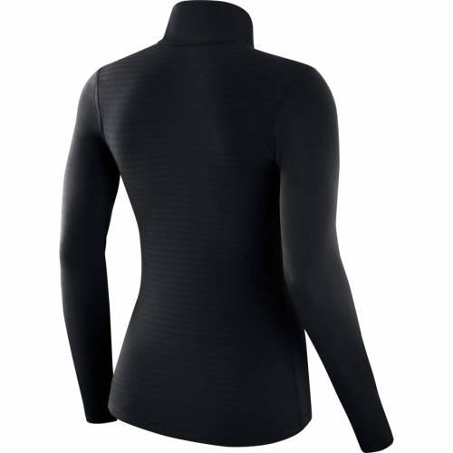 ナイキ NIKE アトランタ ファルコンズ レディース チーム ロゴ パフォーマンス 黒 ブラック 【 Atlanta Falcons Womens Team Logo Performance Half-zip Pullover Jacket - Black 】 Black